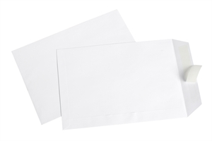 CUMBERLAND ENVELOPES POCKET C4 324X229 100GSM STRIP SEAL WHITE PACK 25