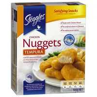 Steggles Chicken Breast Nuggets Tempura 1kg