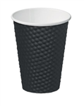 Castaway Cup 12oz Dimple Black 25Sleeve