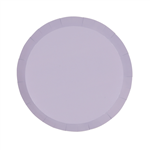 Five Star Paper Round Snack Plate 7 Lilac 10 Pack