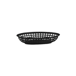 Trenton Bread Basket Oval Black 24X15x5