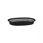Trenton Bread Basket Oval Black 27X18x4