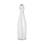 Trenton Glass Bottle Modern Clear 1L